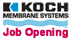 Koch Mambrane Systems Job Opening